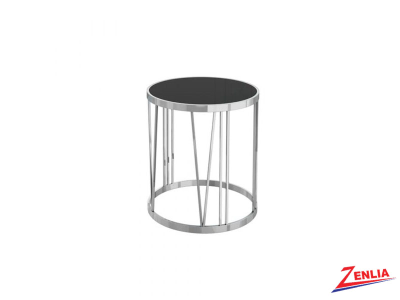 Roma Black End Table