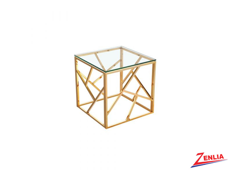 Caro Gold End Table