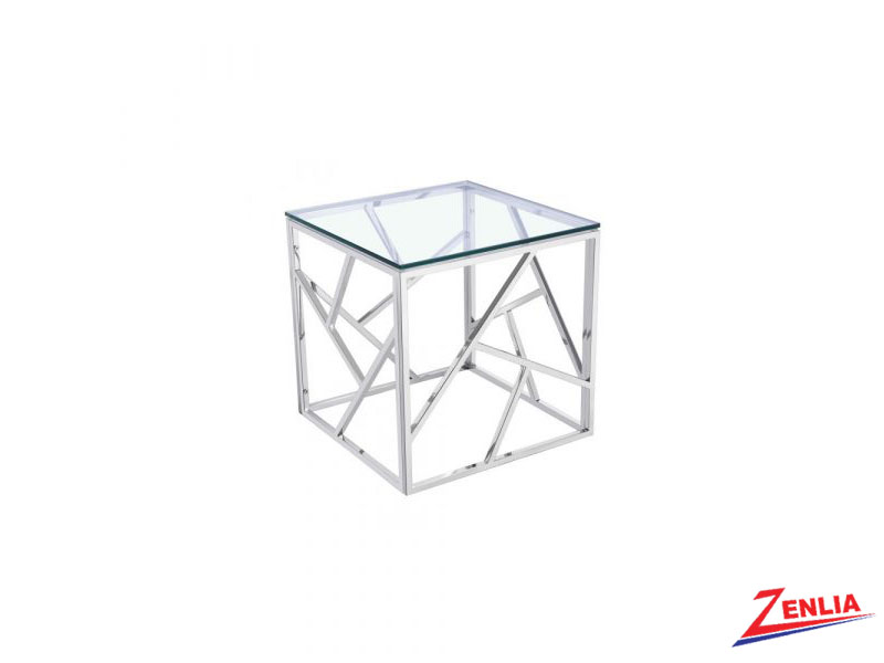 Caro Silver End Table