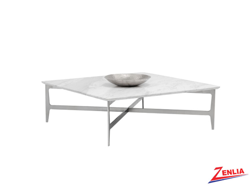 Clear Square Coffee Table