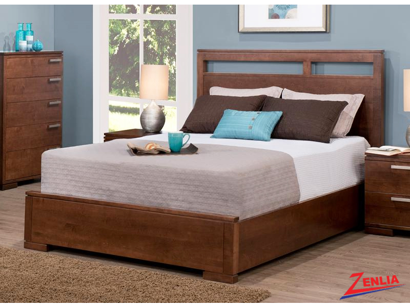 Cordo Bed With Low Footboard