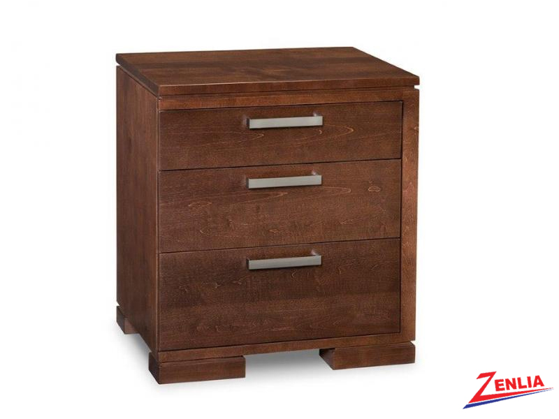 Cordo Right 3 Drawer Night Stand
