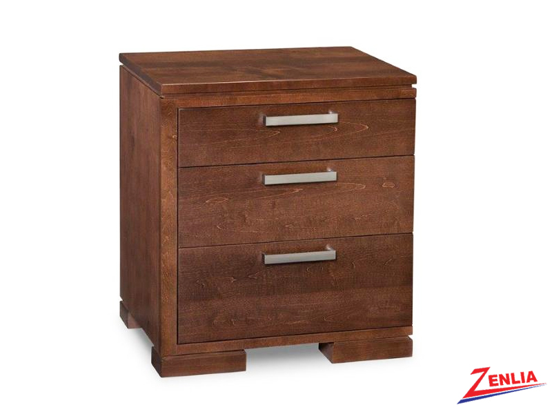 Cordo Left 3 Drawer Night Stand