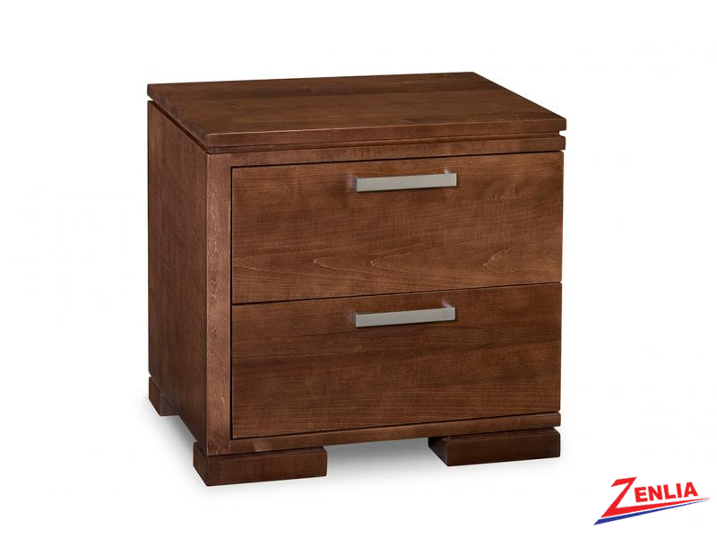 Cordo Left 2 Drawer Night Stand