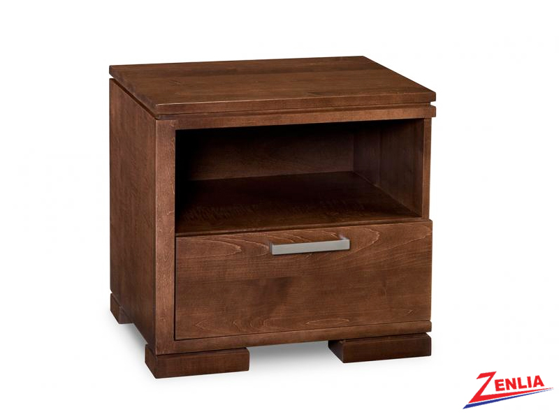 Cordo Left 1 Drawer Night Stand