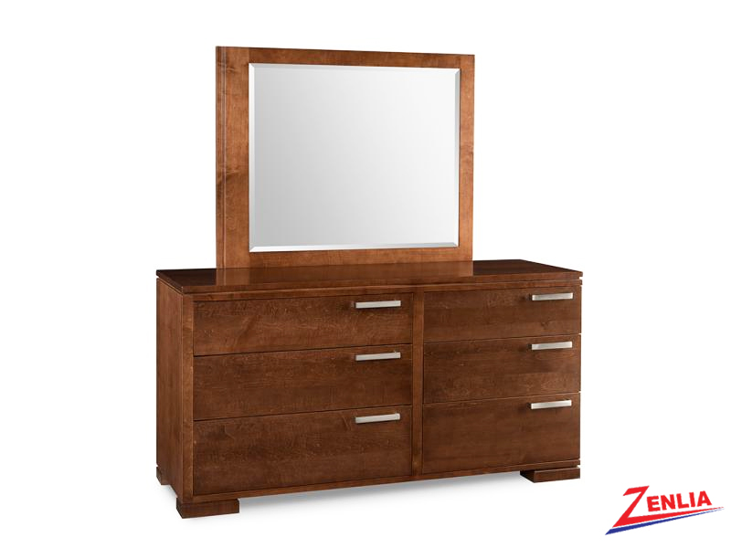 Cordo 6 Drawer Dresser And Mirror
