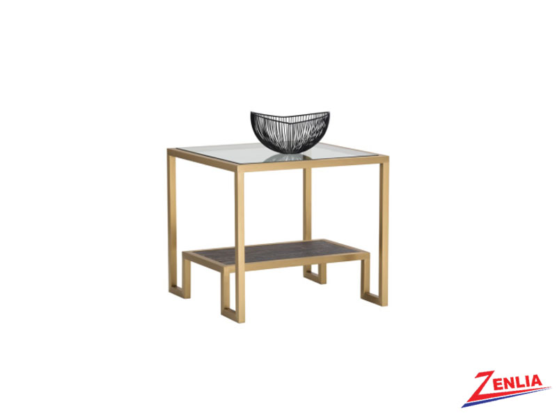 Carv End Table