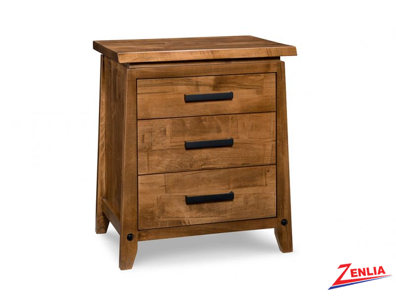 Pembe Three Drawer Night Stand