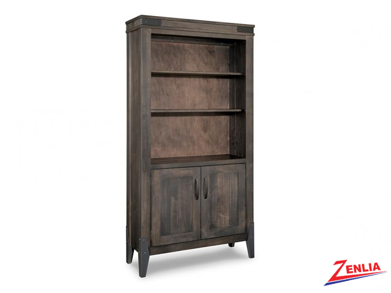 chatt-4075-wide-open-bookcase-with-doors-image