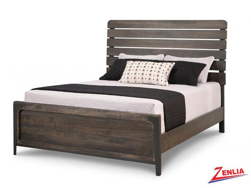 Port Bed With Low Footboard