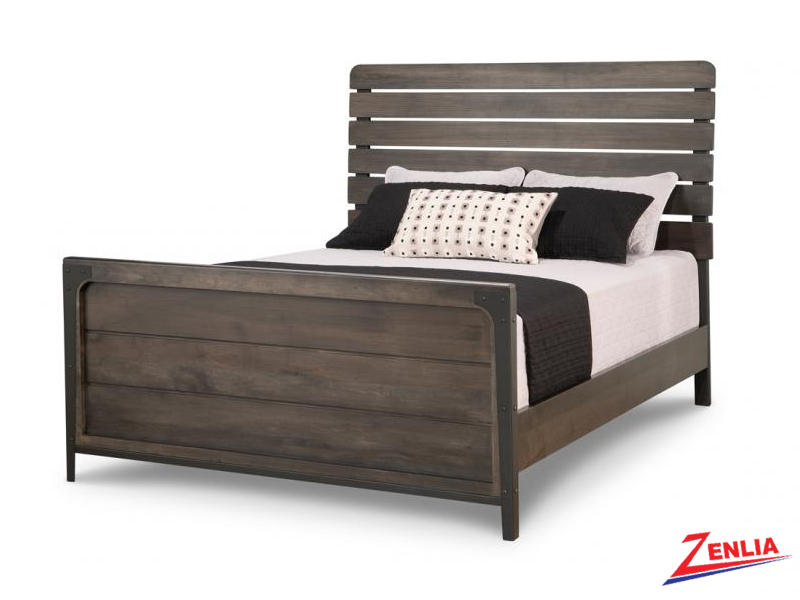 Port Bed With High Footboard
