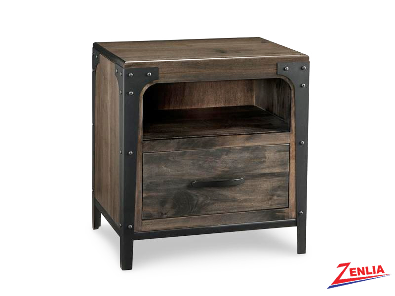 Port One Drawer Night Stand