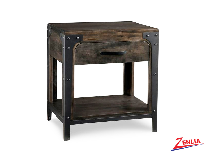 Port One Drawer Open Night Stand