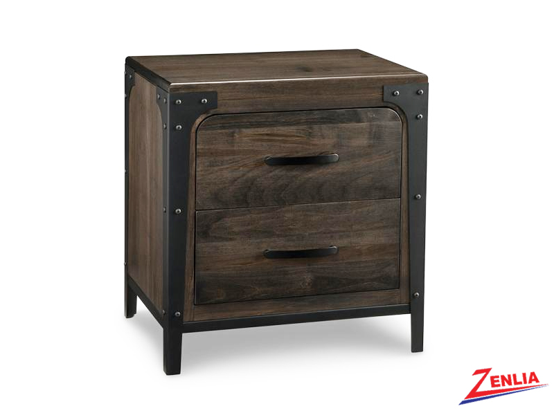 Port Two Drawer Night Stand