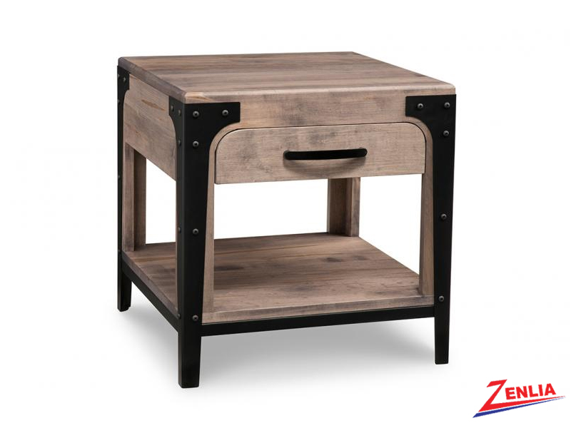 Port End Table With One Drawer