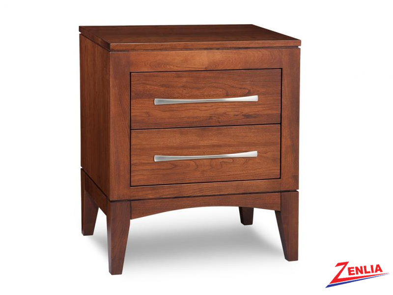 Catal Two Drawer Night Stand