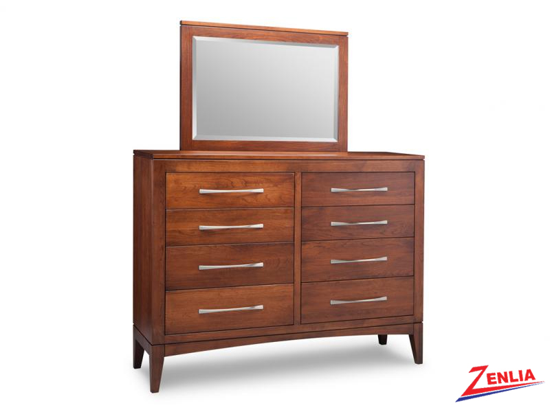 Catal 8 Drawer High Dresser And Mirror