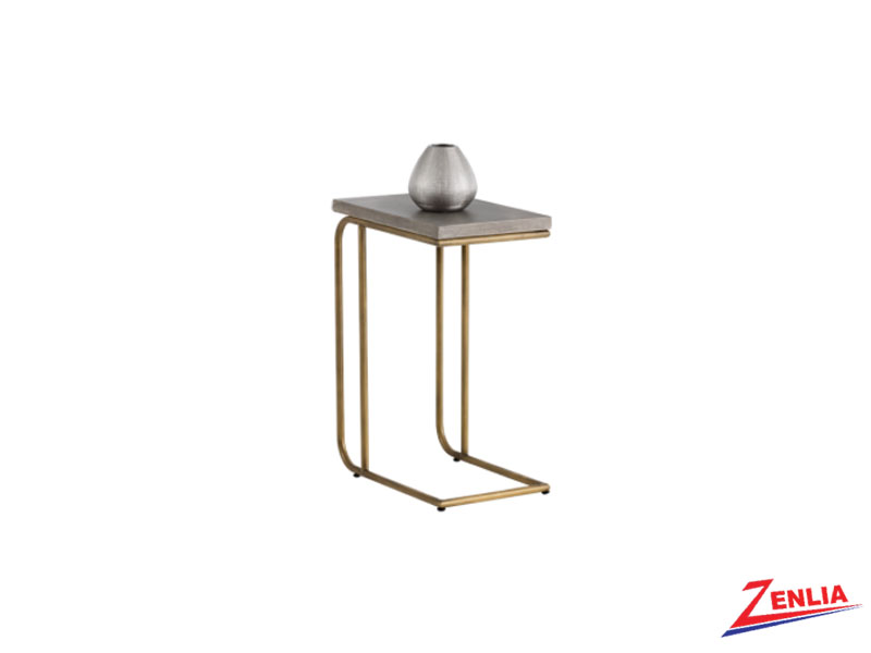 Luci C Shaped End Table