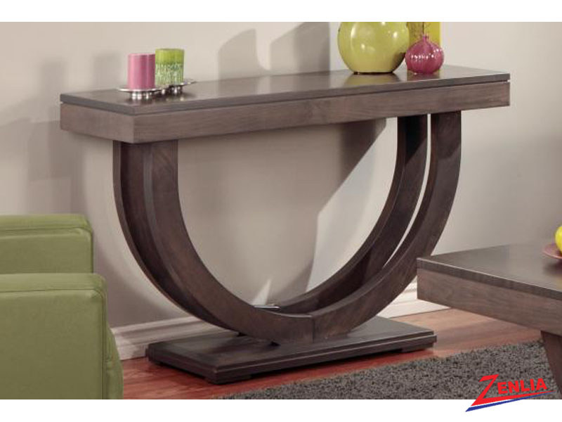 Cont Pedestal Sofa Table