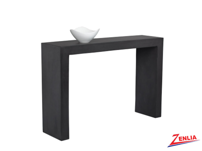 Axl Black Console Table