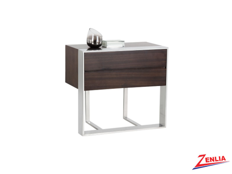 Dalt End Table Brown
