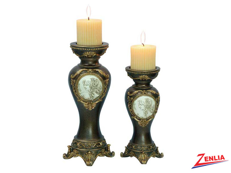 4192 2pc Candle Holder Set