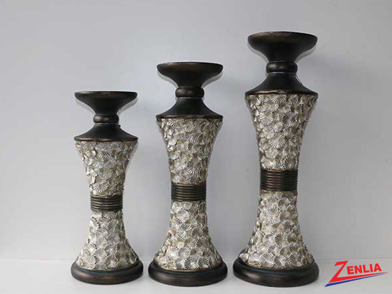 125 3pc Candle Holder Set