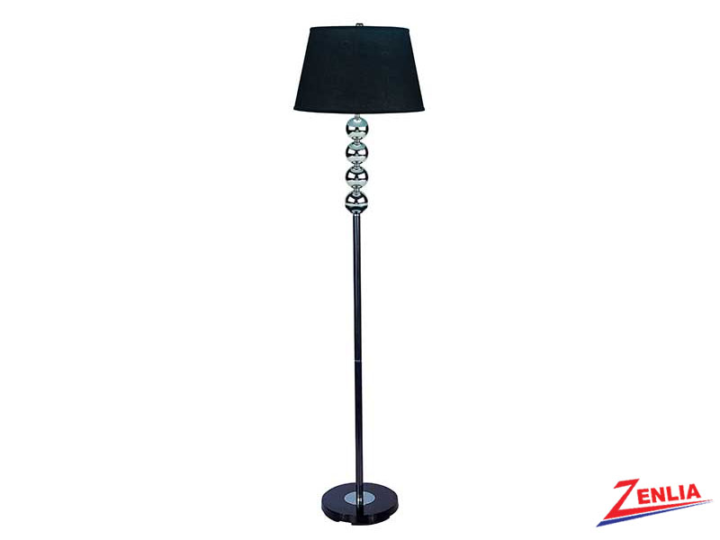 6257 Black Floor Lamp