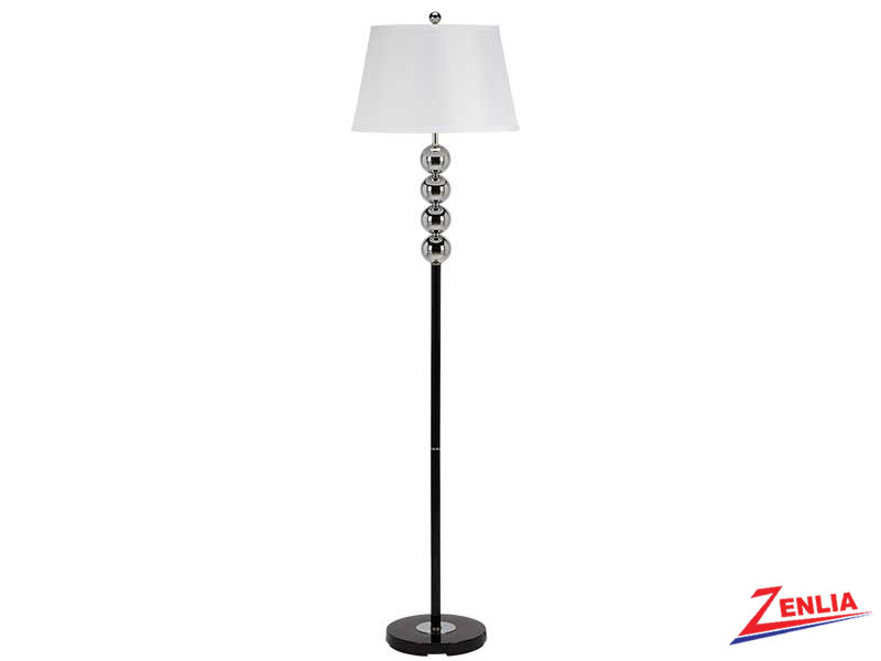 6257 White Floor Lamp