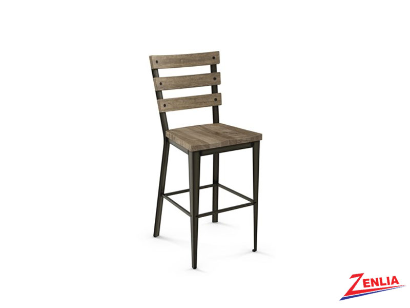 Style 40-323 Wood Non Swivel Stool