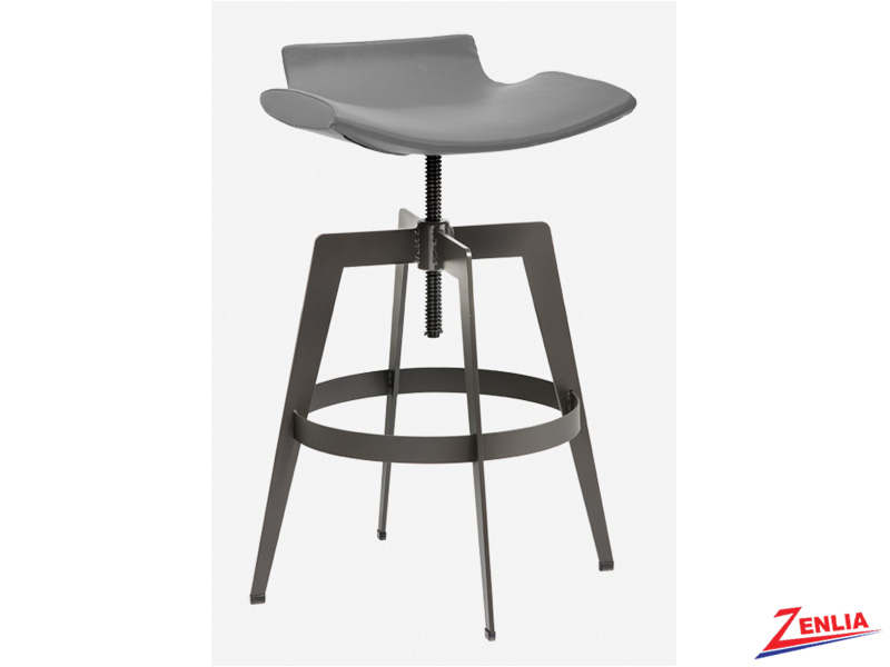 Banc Adjustable Stool Grey