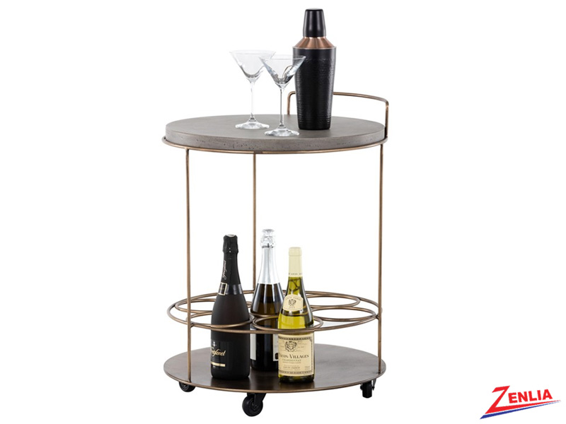 Row Bar Cart