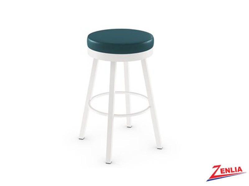 Style 42-442 Metal Fabric Swivel Stool