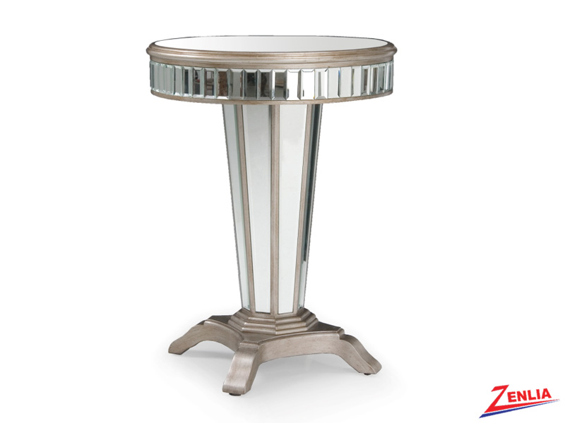 Strad Mirrored Accent Table