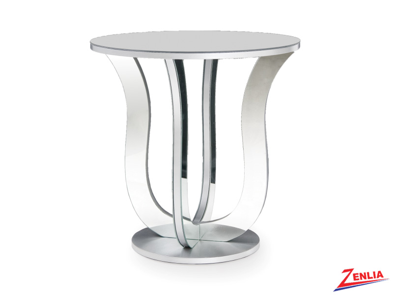 Cater Mirrored Accent Table