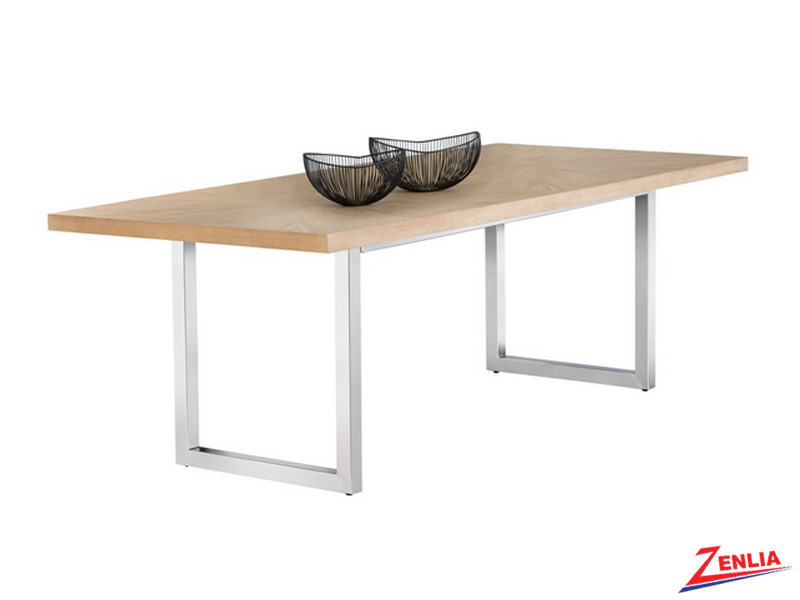 Falo Beige Dining Table