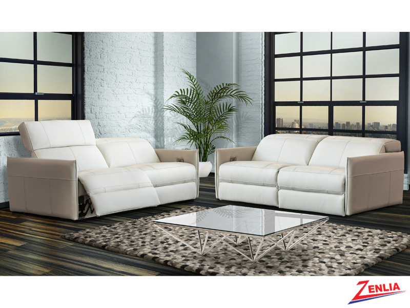 Loft Modern Sofa Set With Power Headrest