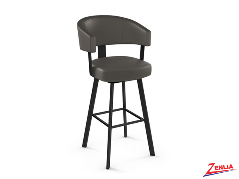 Style  41-560 Metal Fabric Swivel Stool