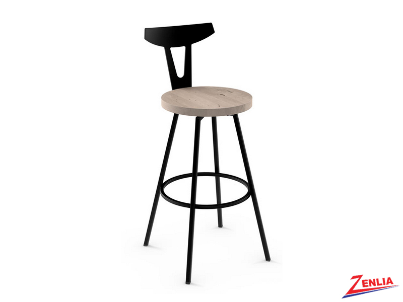 Style  41-504 Metal Wood Swivel Stool