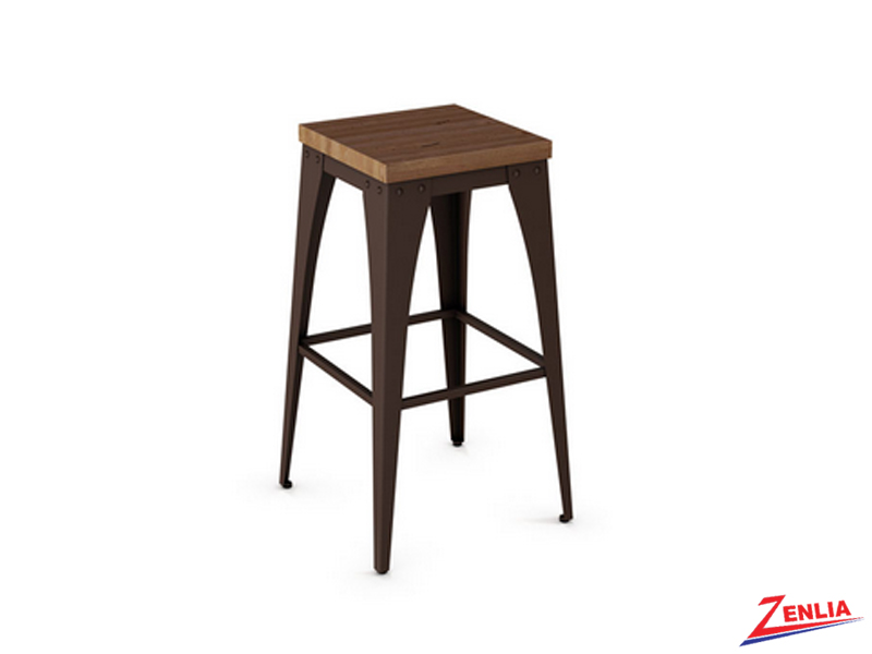 Style 42-564 Non-swivel Metal Wood Stool
