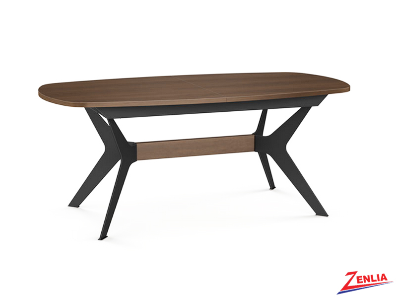 Boom Wood Table With Butterfly Leaf