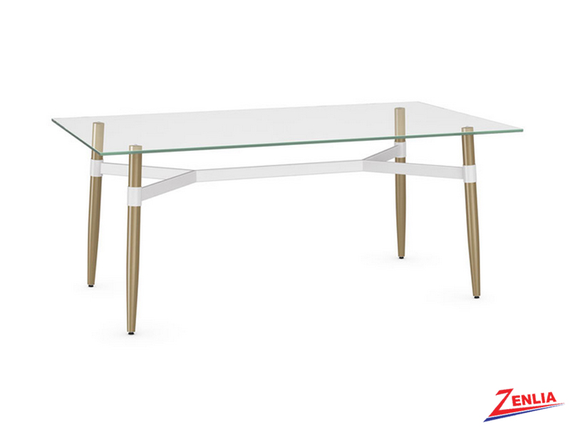 Lin Small Glass Dining Table