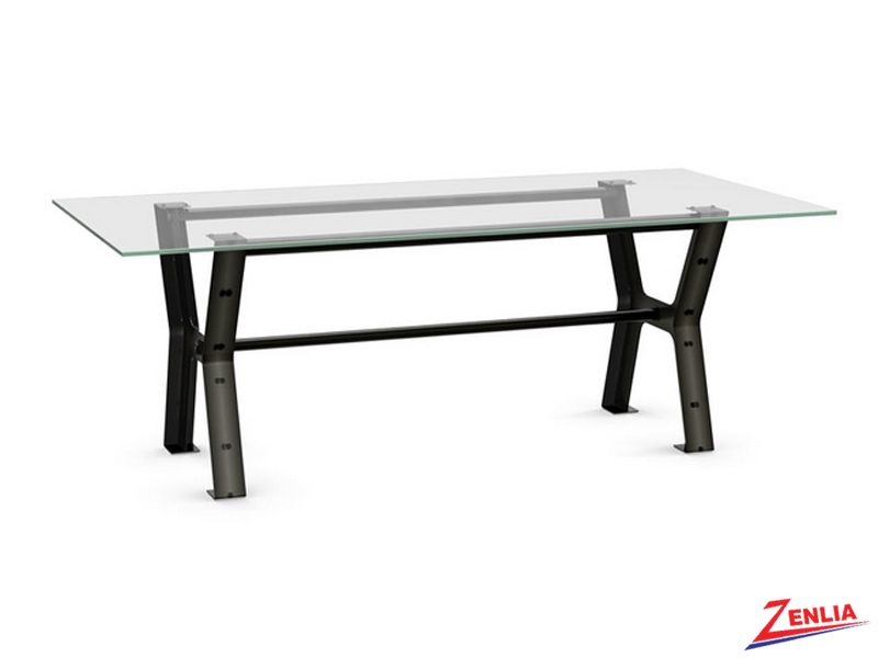 Parad Long Glass Dining Table