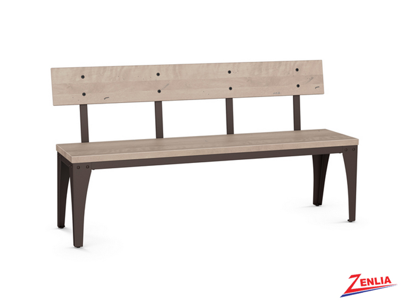 archi-metal-wood-large-bench-image