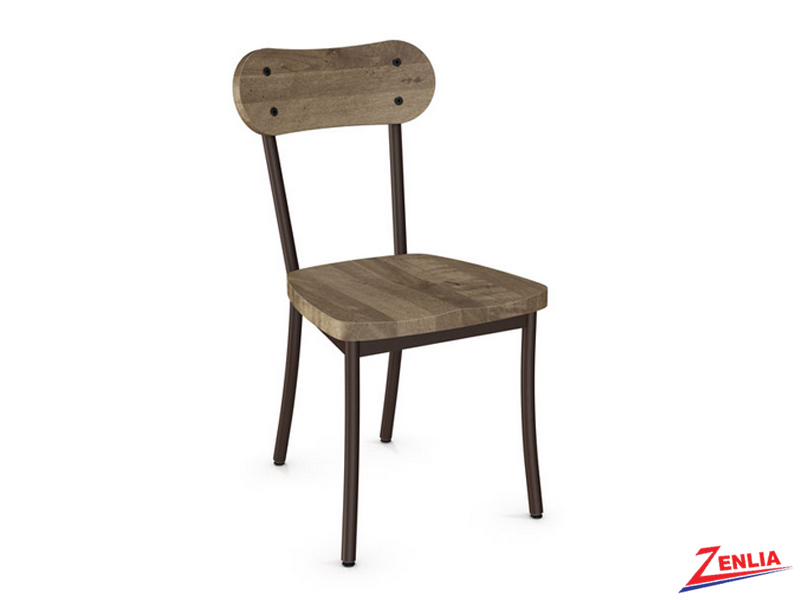 Bea Wood Seat With Wood Backrest