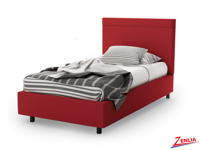 Bree Twin Storage Bed With Self Welt