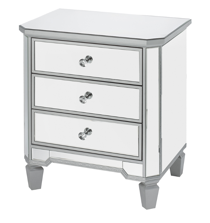 1061 Three Drawer Night Stand
