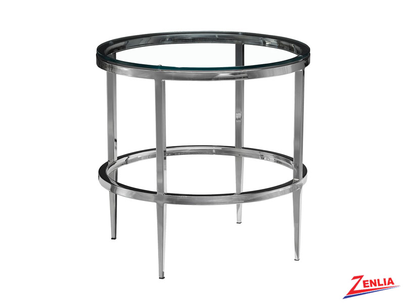 Alba Round End Table
