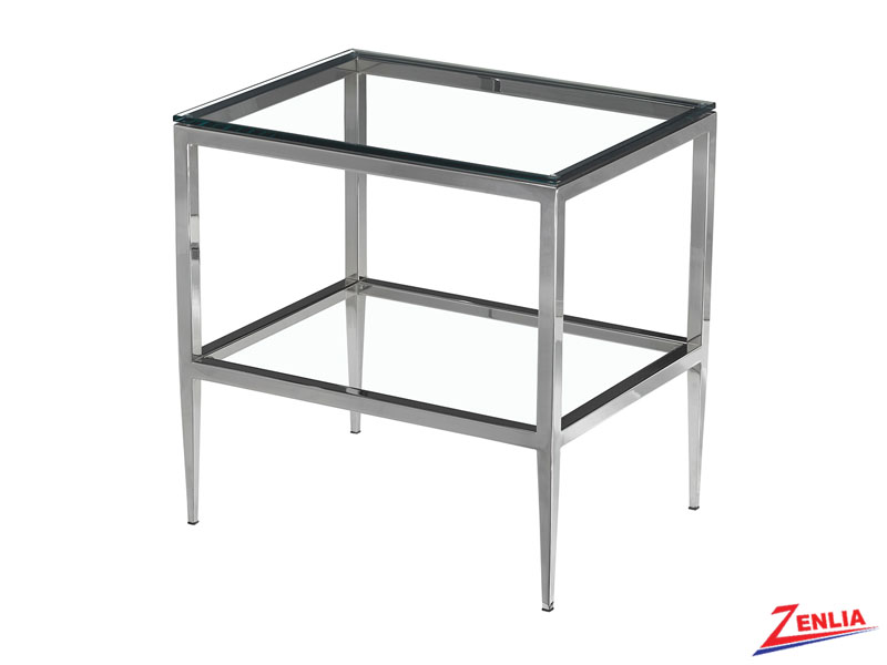 Alba Rectangular End Table