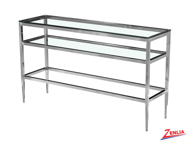 Alba Console With Shelf